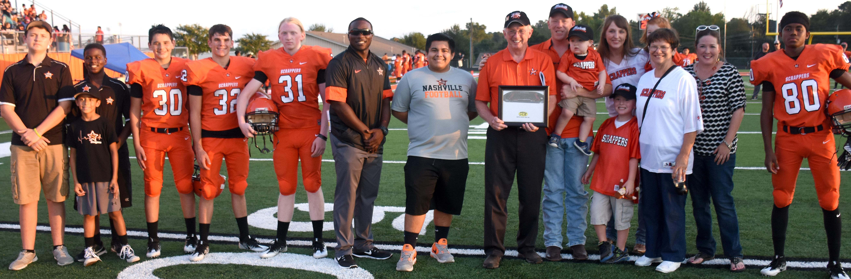 scrapper stadium turf donors recognized before nashville